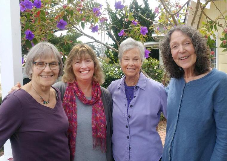Nancy Ballinger, Julie Frankel, Marcy Adams, and Linna Thomas